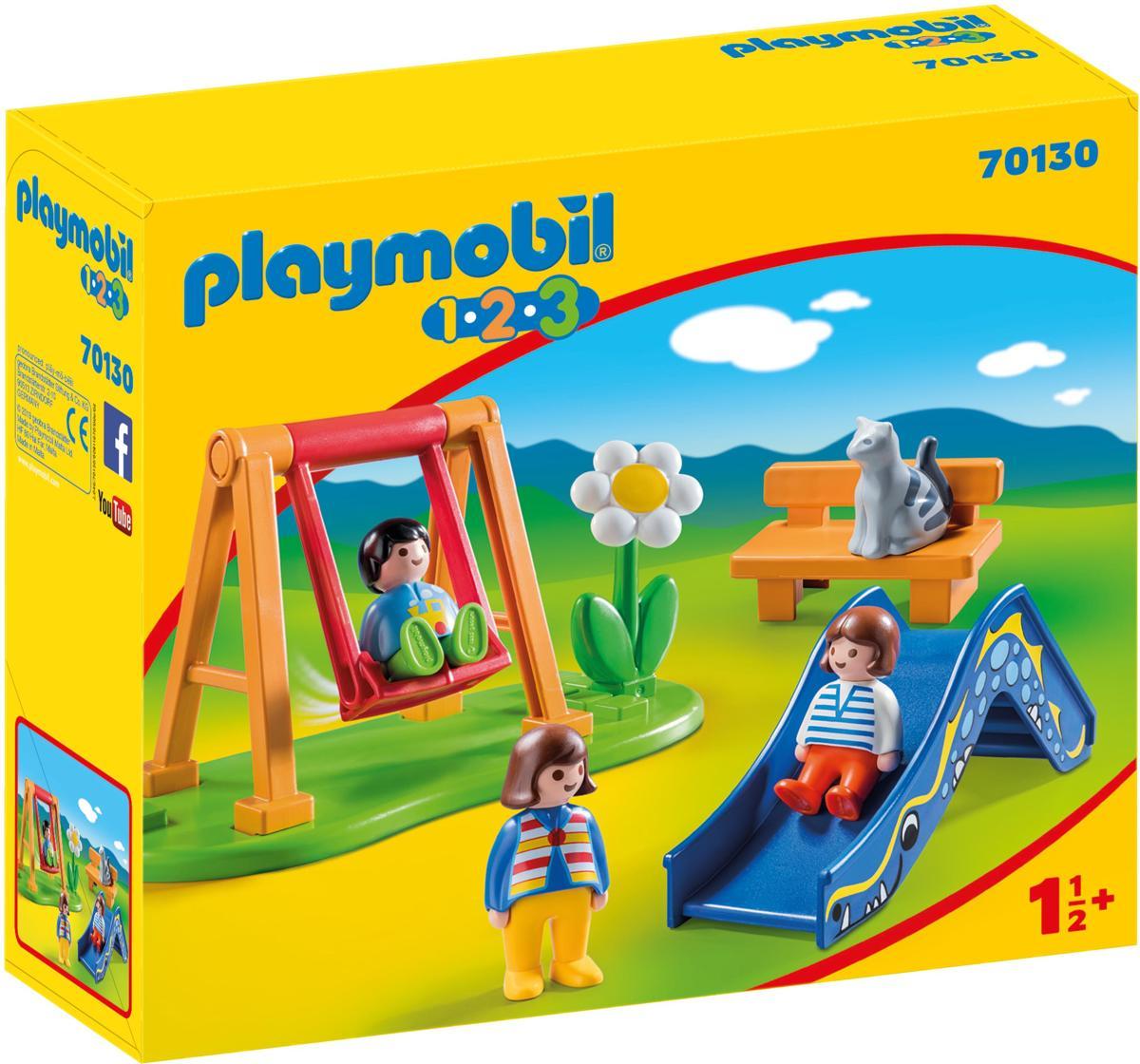 PLAYMOBIL 1.2.3 70130 - Speeltuintje