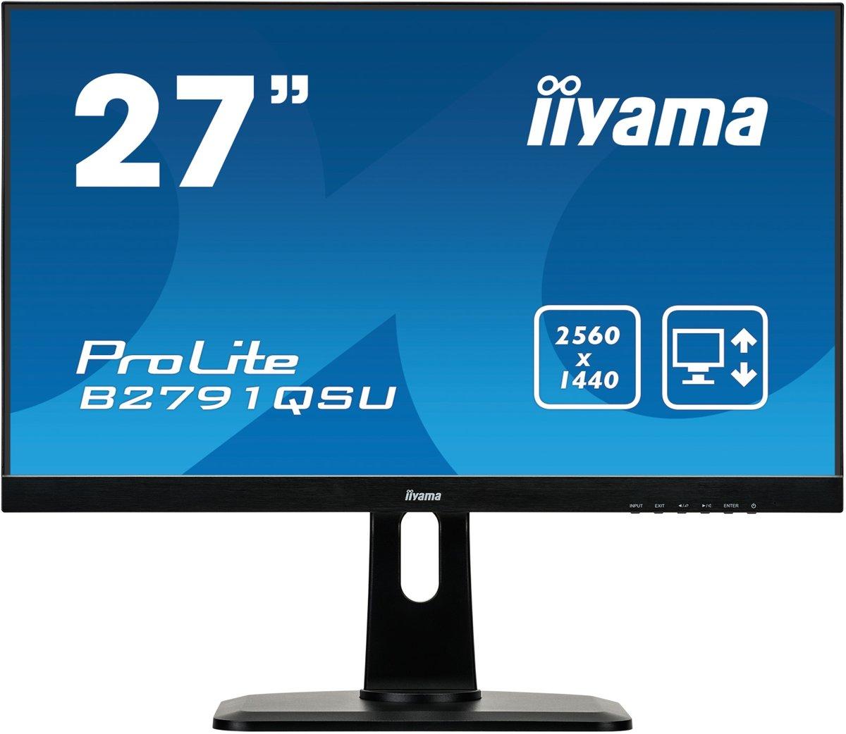 iiyama ProLite B2791QSU-B1 - WQHD Monitor