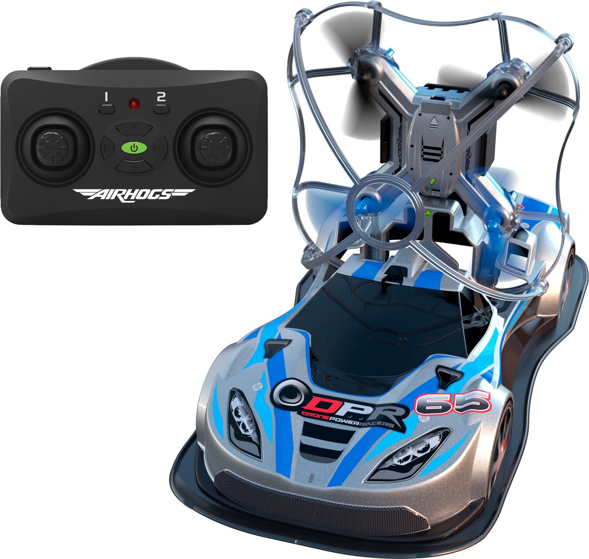 Air Hogs Power Drone racers blauw