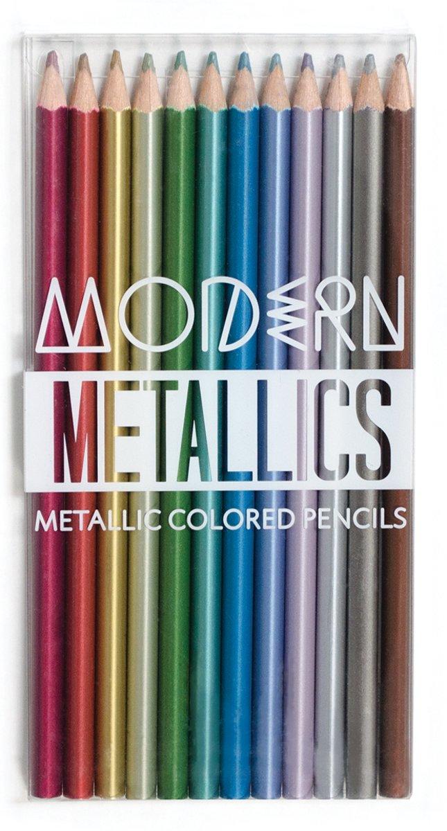 Ooly - Kleurpotloden 'Modern Metallic'