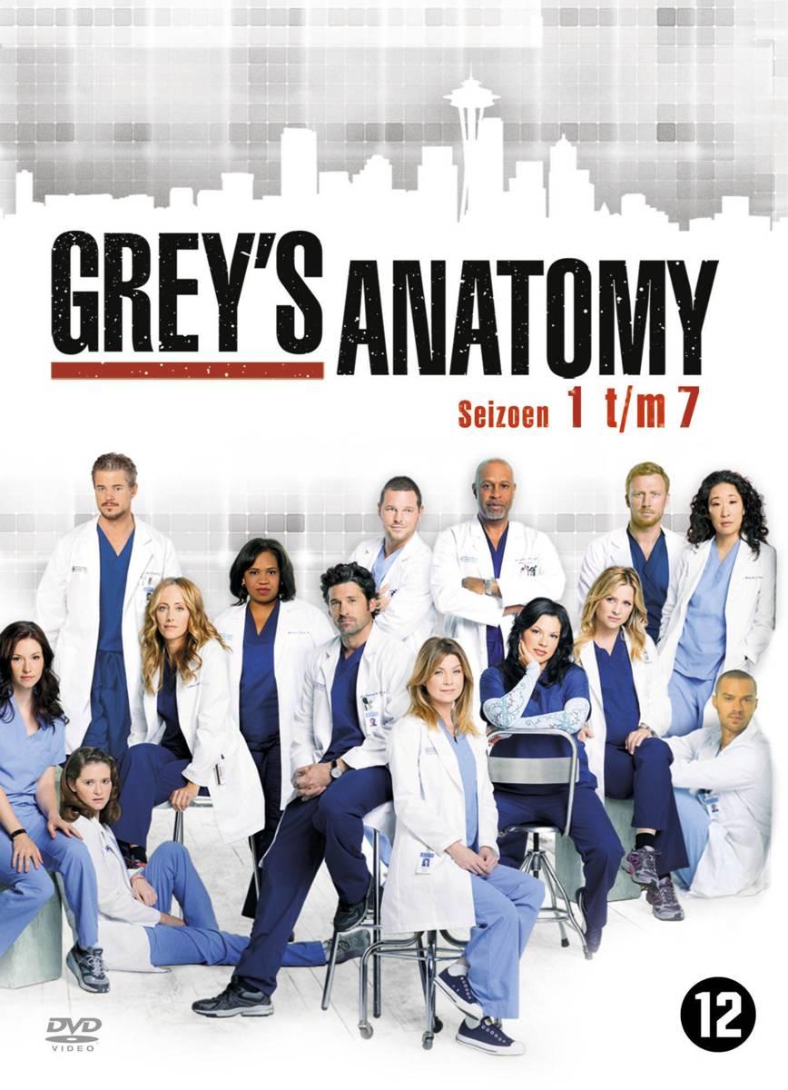 bol.com | Grey\'s Anatomy - Seizoen 1 t/m 7 (Dvd), Patrick Dempsey ...