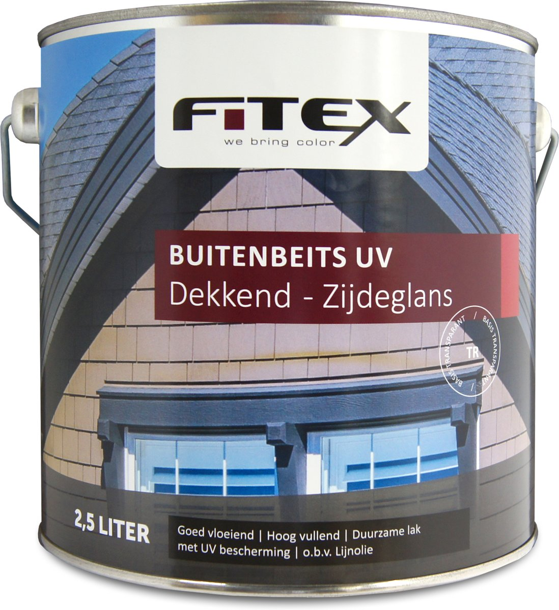 Fitex-Buitenbeits UV-Zijdeglans-Grachtengroen Q0.05.10-2,5 liter