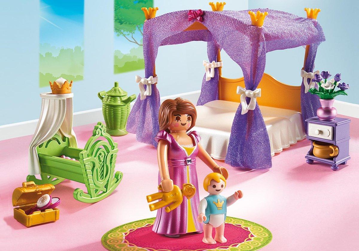 Bol.com playmobil princess: koninklijke slaapkamer hemelbed