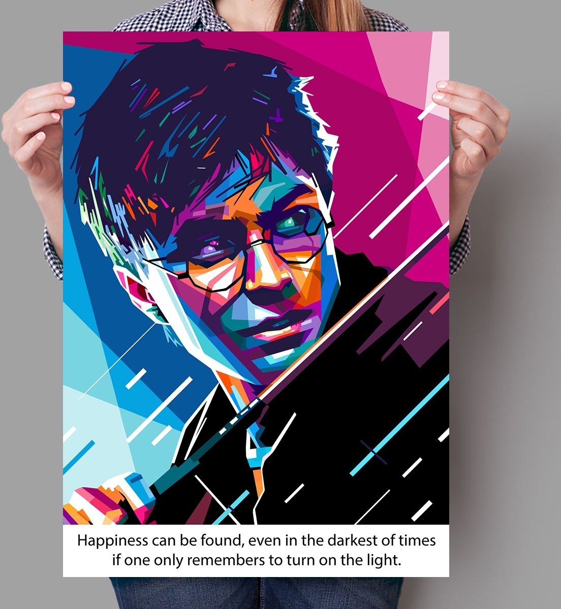 Poster WPAP Pop Art Harry Potter kopen