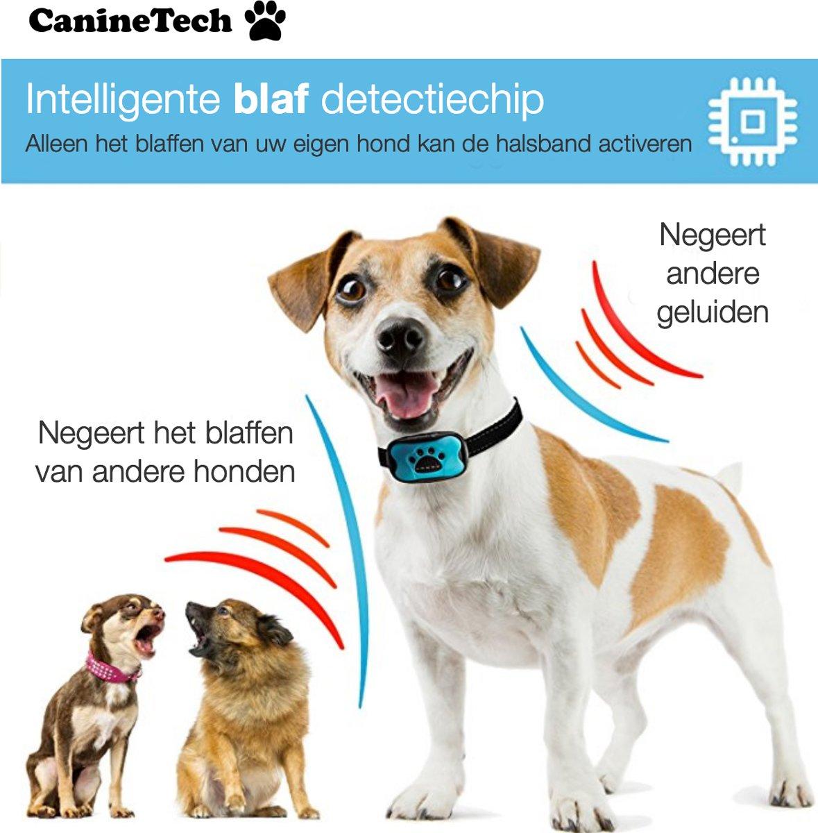 Bol Com Canine Tech Geavanceerd 4 In1 Premium Antiblafband