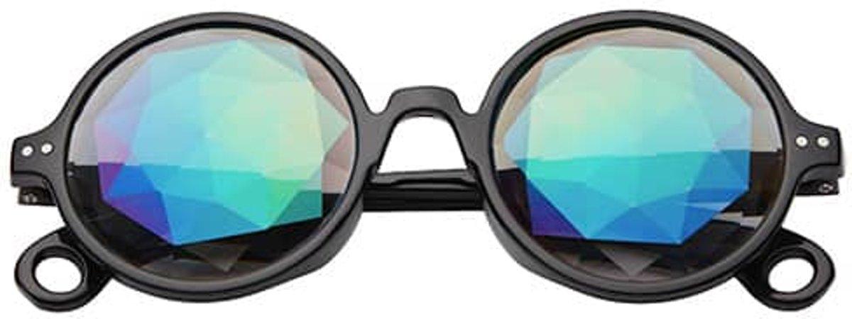 Original caleidoscoop bril | diamond flower kopen