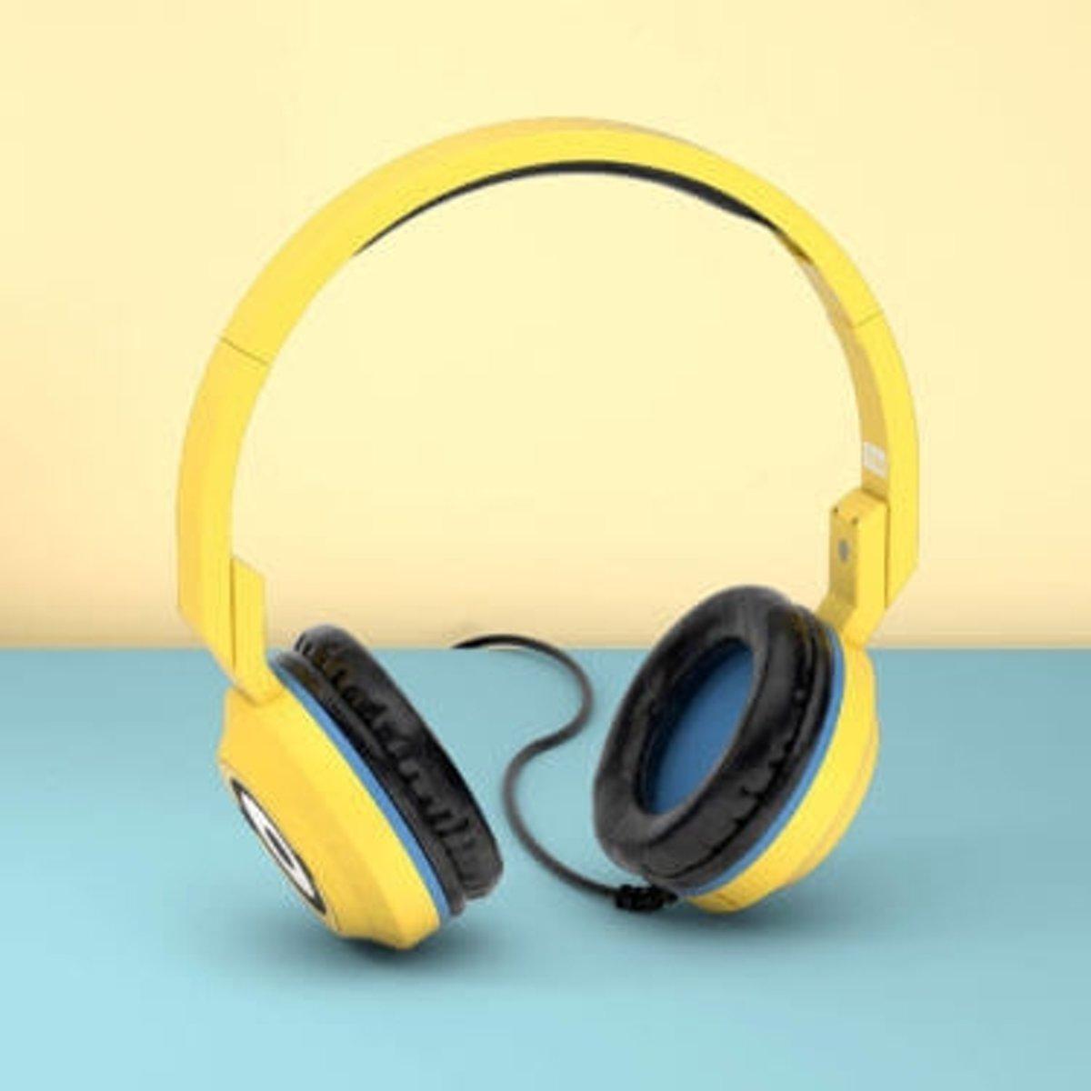 Tribe HPW12100 Hoofdband Stereofonisch Bedraad Geel mobiele hoofdtelefoon kopen