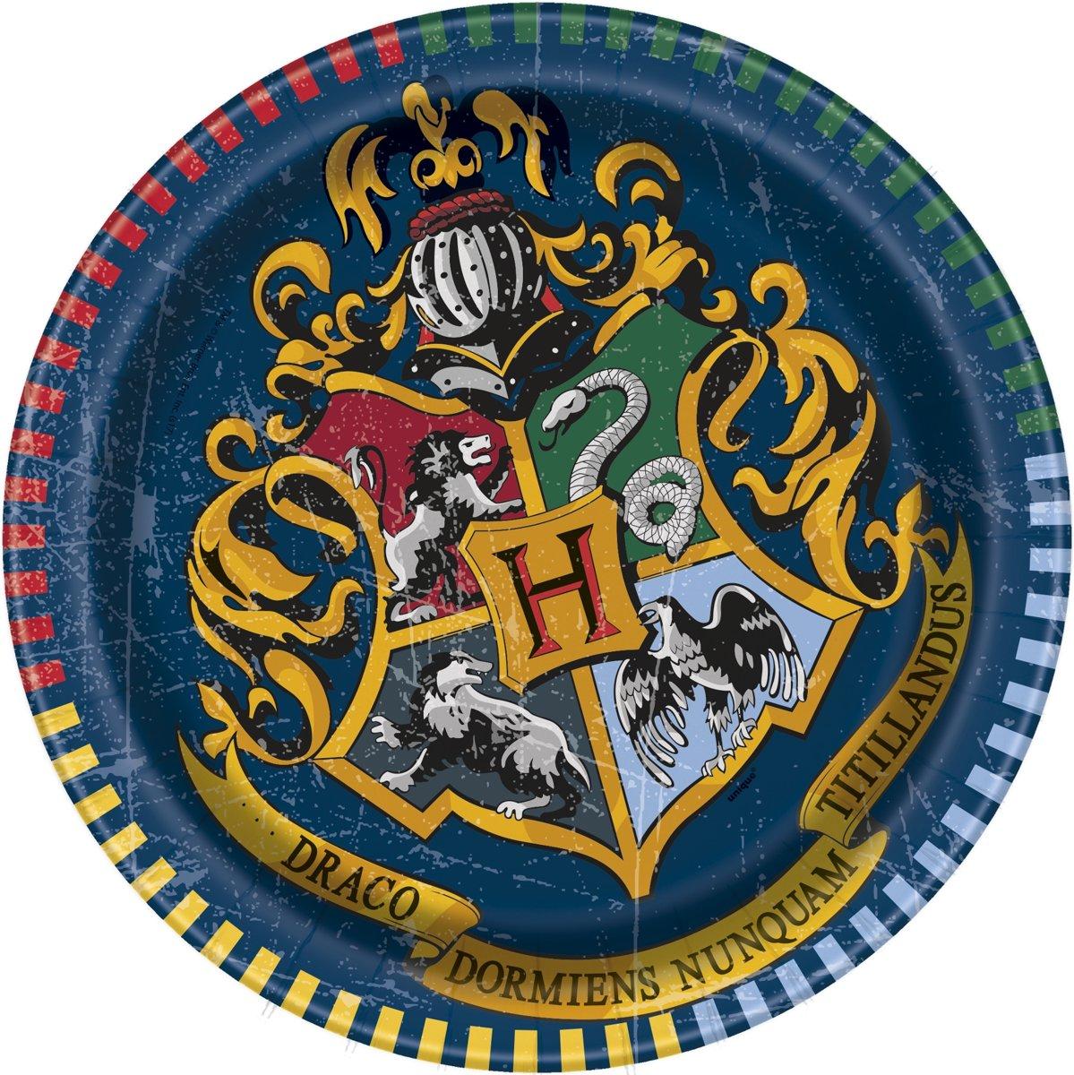 8 kleine Harry Potter™ borden - Feestdecoratievoorwerp