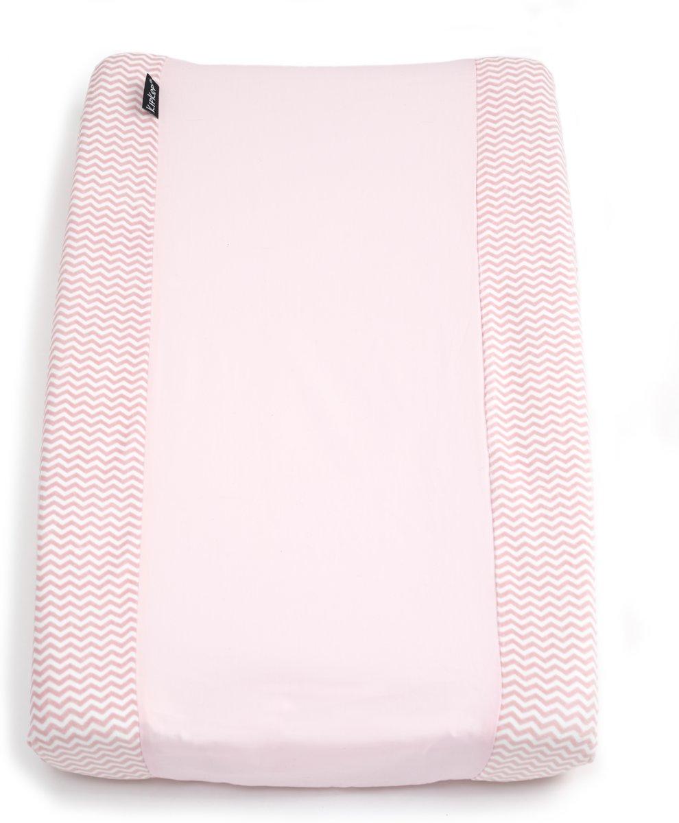 Aankleedkussenhoes met antislip onderzijde - Ziggy Pink