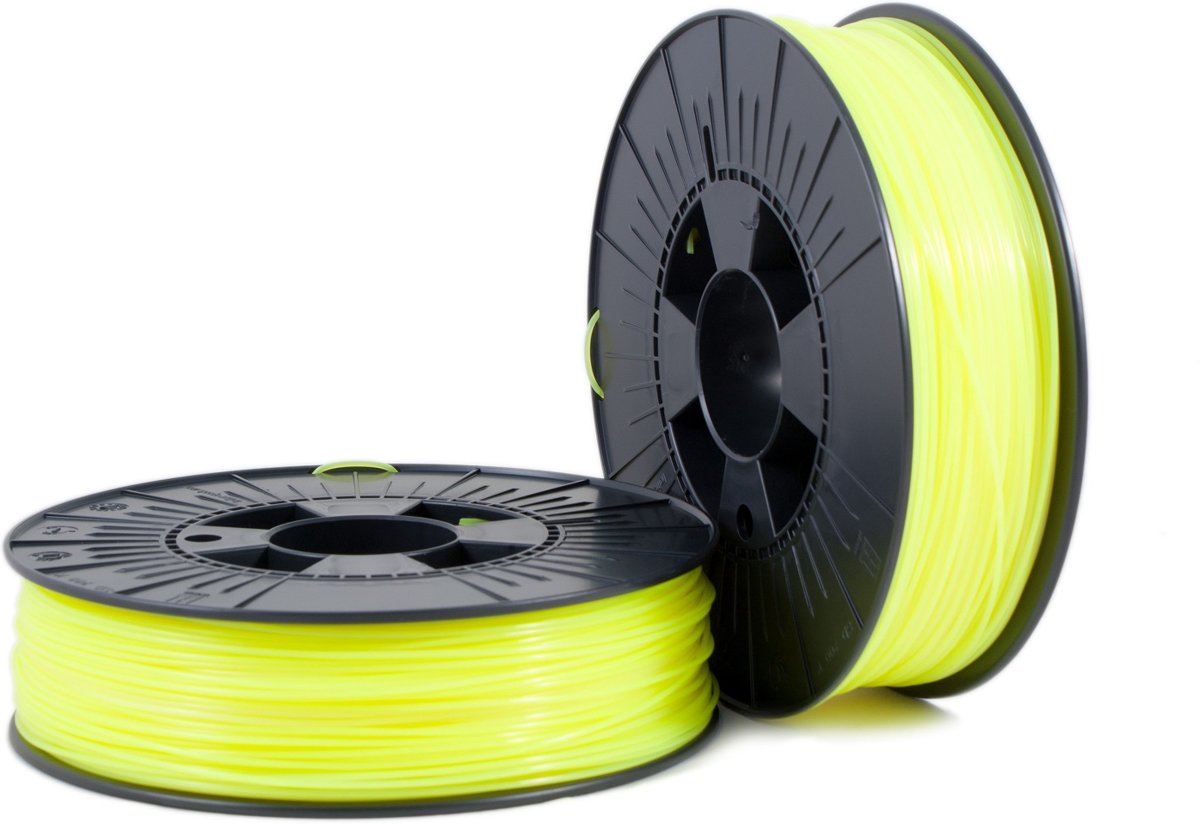 PLA 1,75mm yellow fluor 0,75kg - 3D Filament Supplies