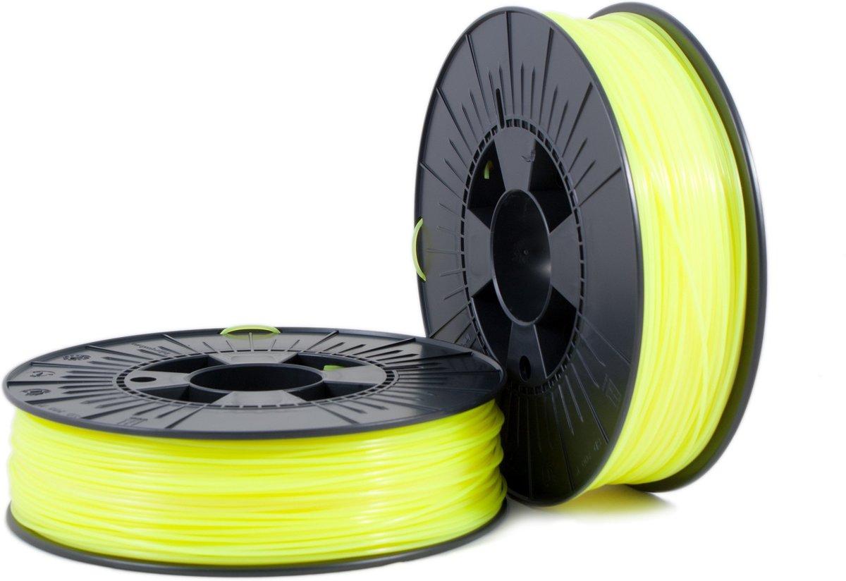 PLA 1,75mm yellow fluor 0,75kg - 3D Filament Supplies
