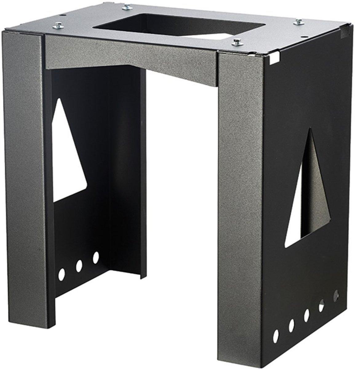 Allux Pakketkast Verankering Allux 8002 - Zwart