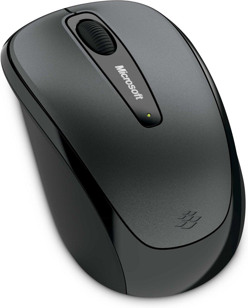 Microsoft Wireless Mobile 3500 - Draadloze Muis - Zwart