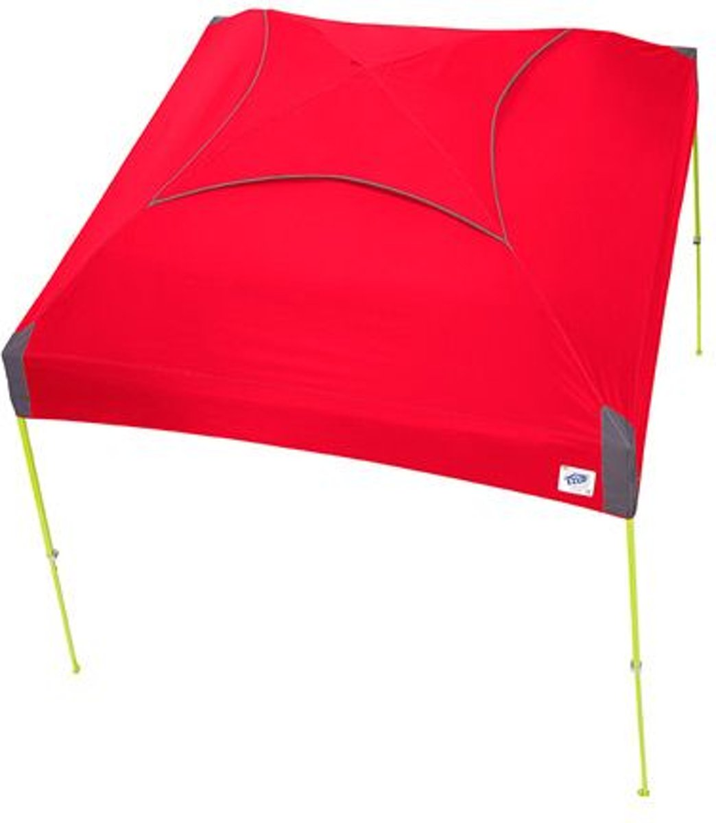 E-Z UP Dome Partytent 3x3m  Steel Orange kopen