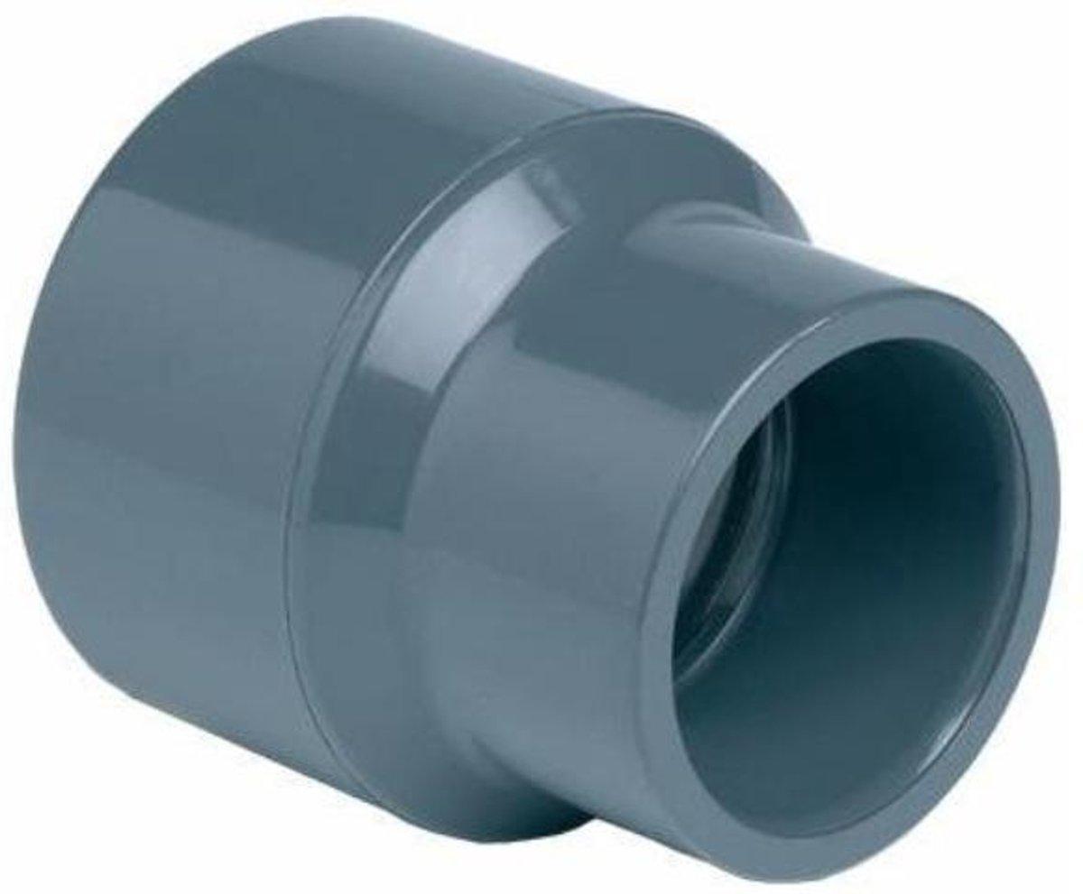 Effast PVC verloopsok - 110 / 125 x 75mm - lijmverbinding kopen