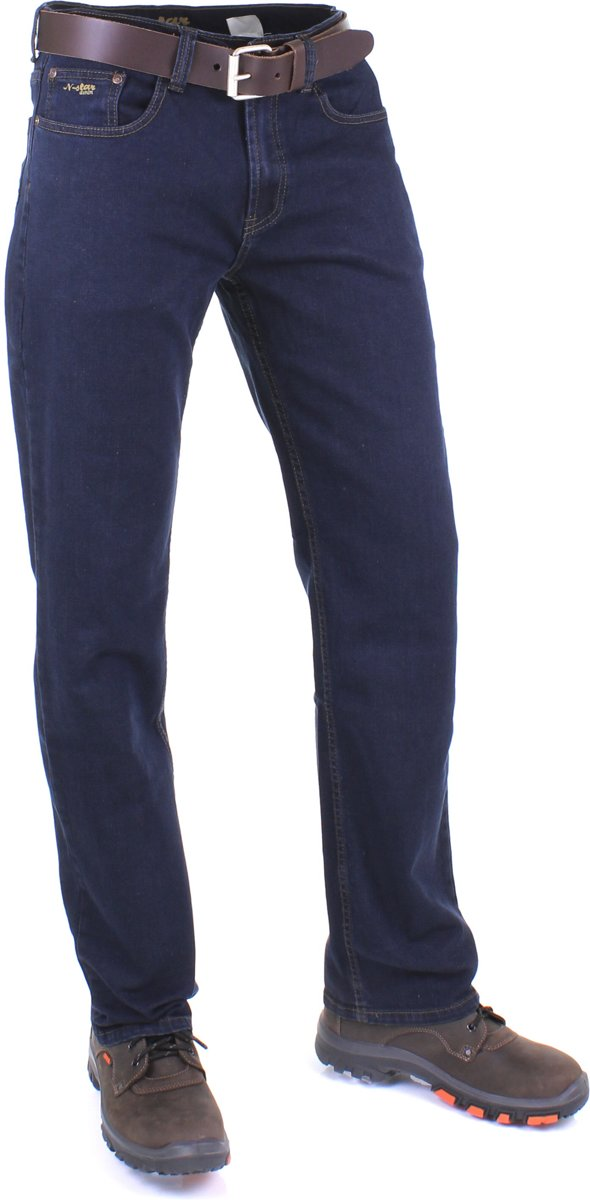 Werkjeans New Star JACKSONVILLE Stretch Jeans DarkstoneW31/L32 kopen