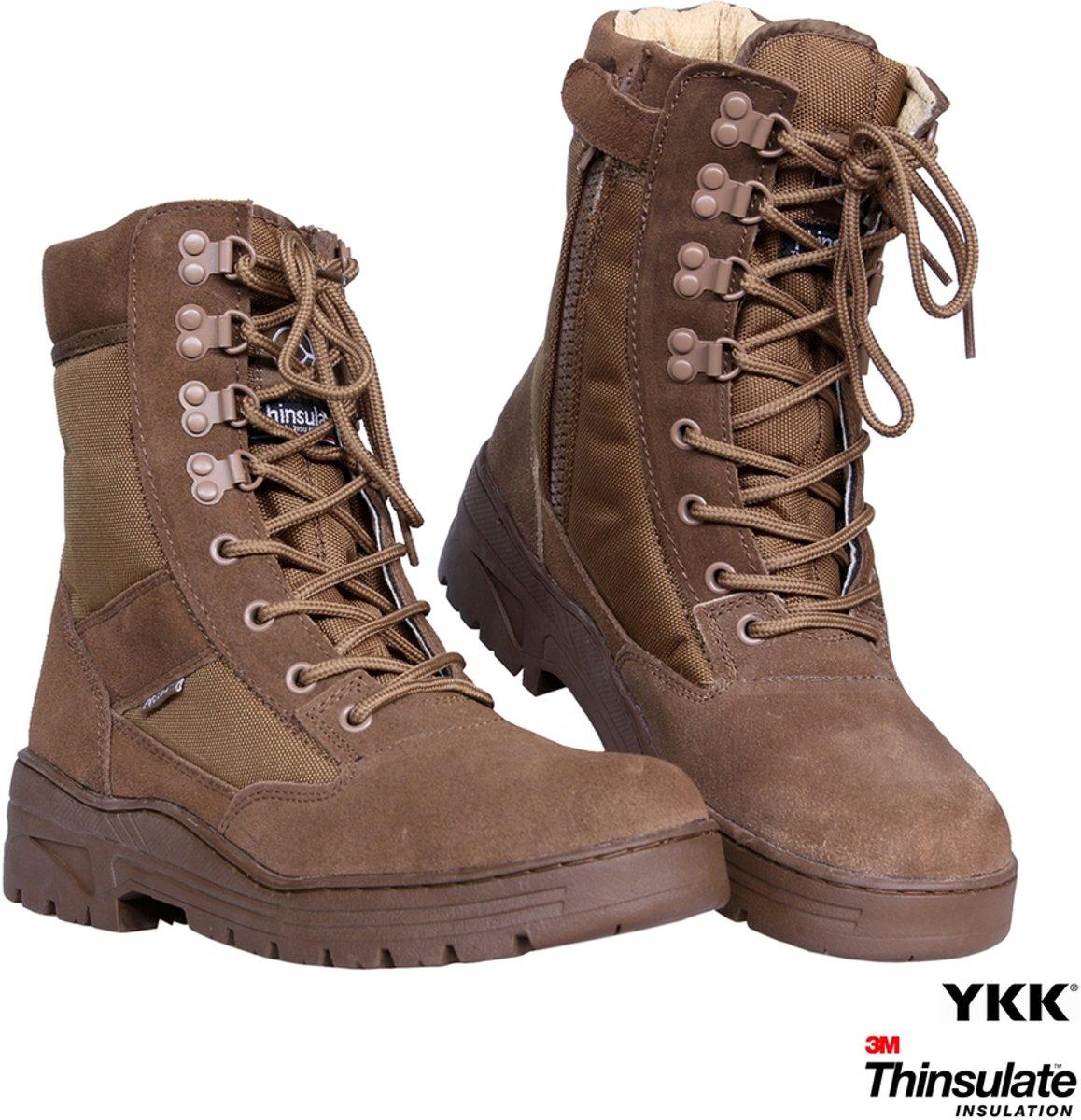 Fostex Sniper Boots Side-Zip Coyote kopen