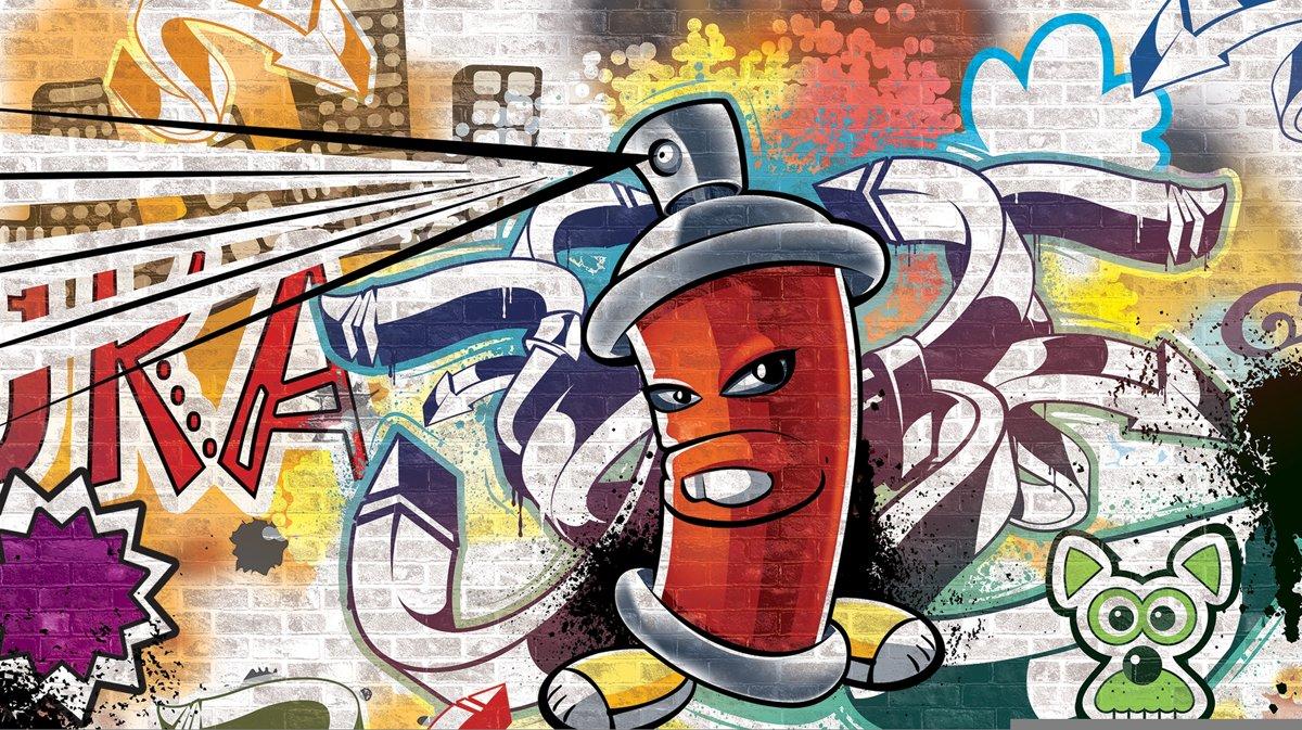 Graffity - Behang - 416X254CM kopen