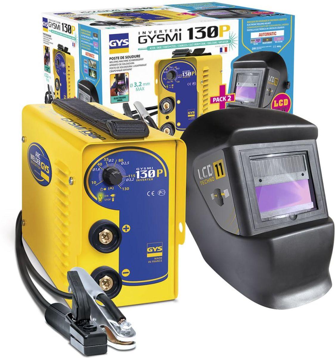 lasset GYSMI 130 P met helm, LCD 11 kopen