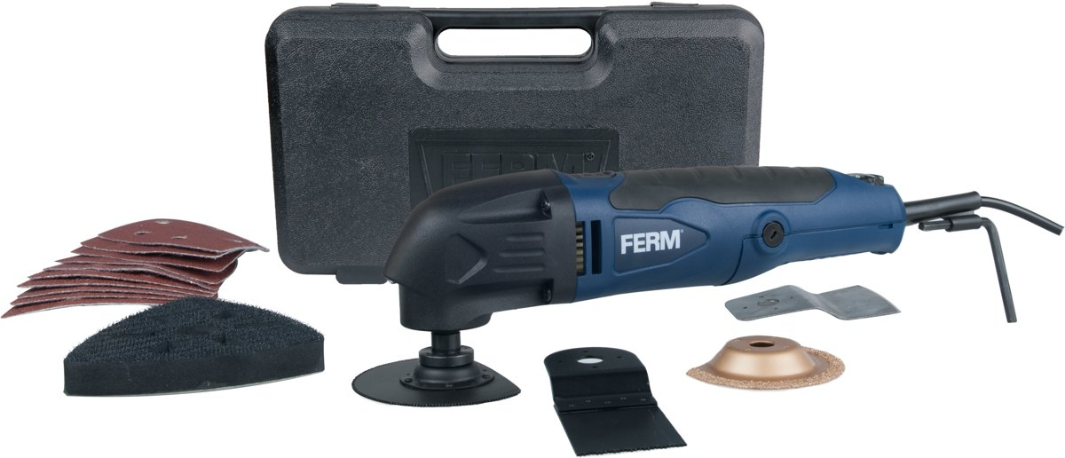 FERM OTM1005 Multitool - Oscillerend - 280W - Inclusief 16 accessoires kopen