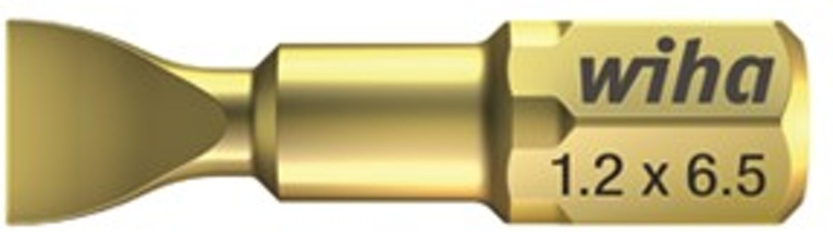 Wiha 7010 HOT Torsion Bit - Sleuf - 6,5 x 1,2 x 25mm kopen