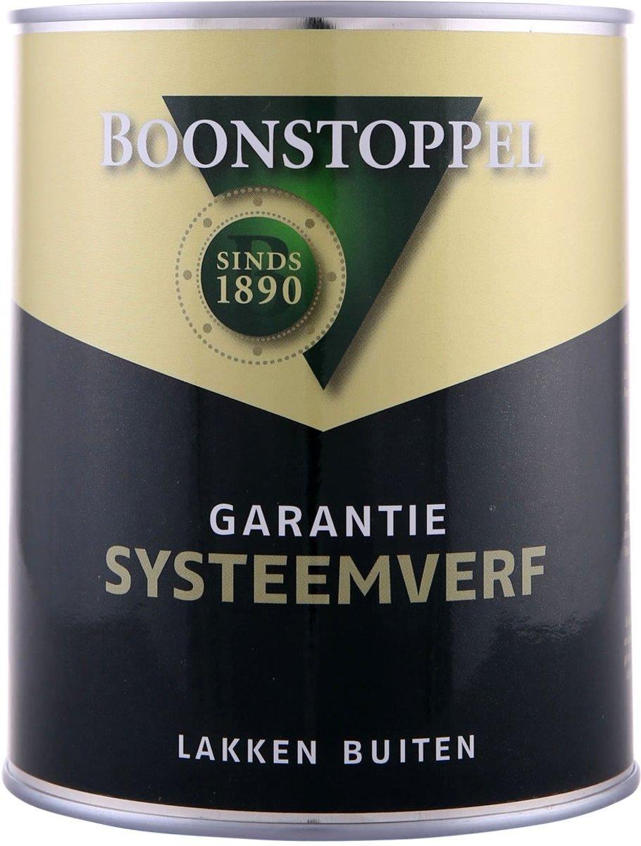 Boonstoppel Garantie Systeemverf, Wit - 2,5 liter kopen