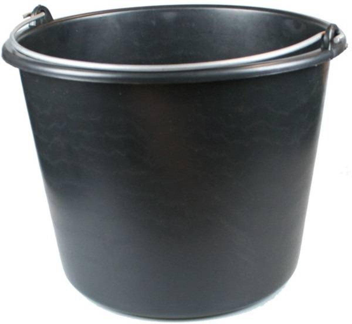 ES Bouwemmer 12 Liter Zwart kopen