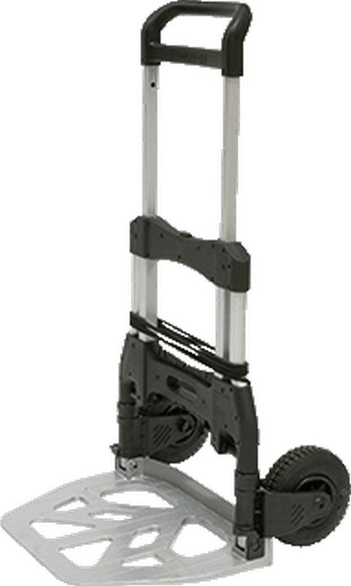 MATA trap/-steekwagen, alu, (hxbxd) 130x59x14.8cm kopen