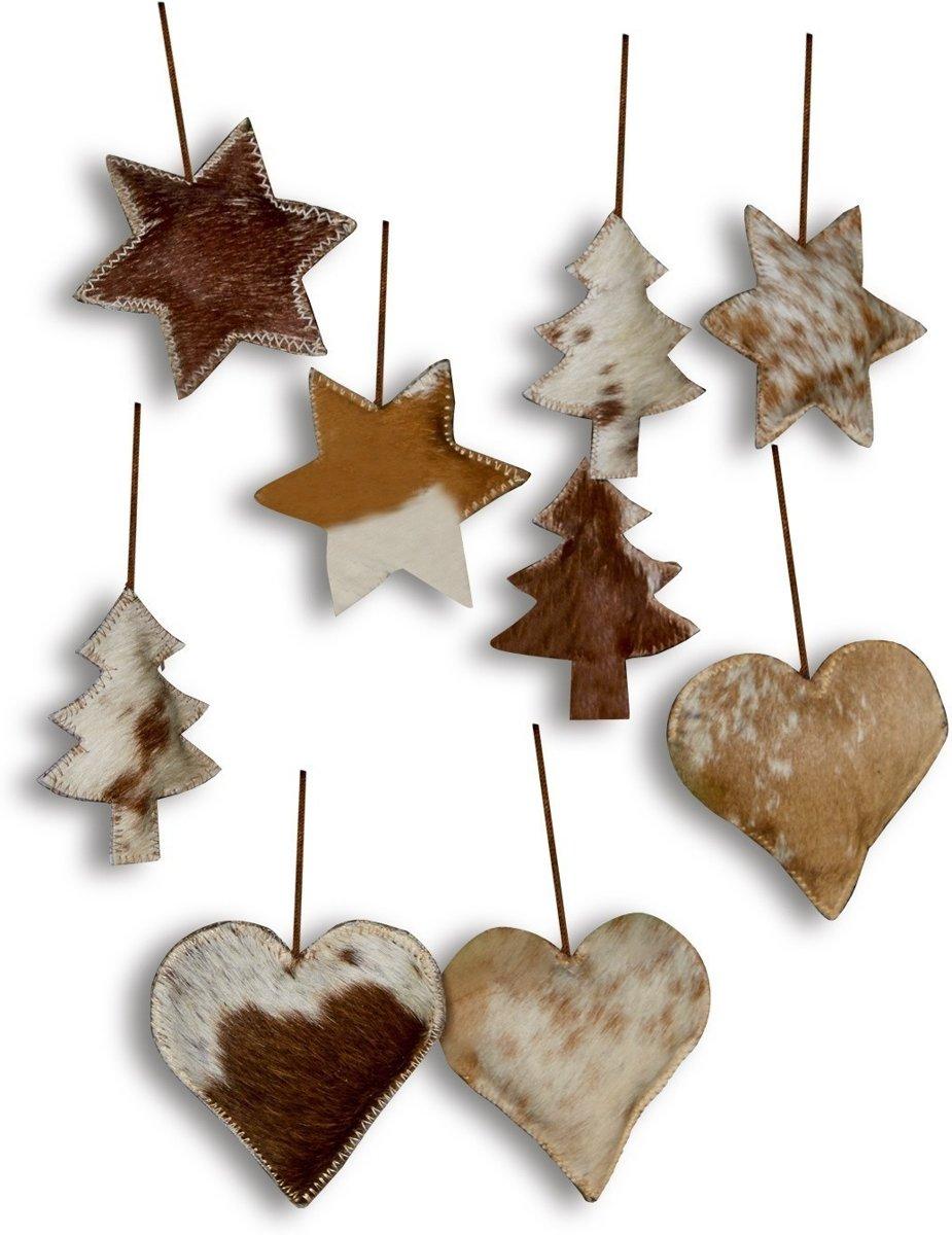 LOBERON Kerstversiering set van 9 Ulysses beige kopen