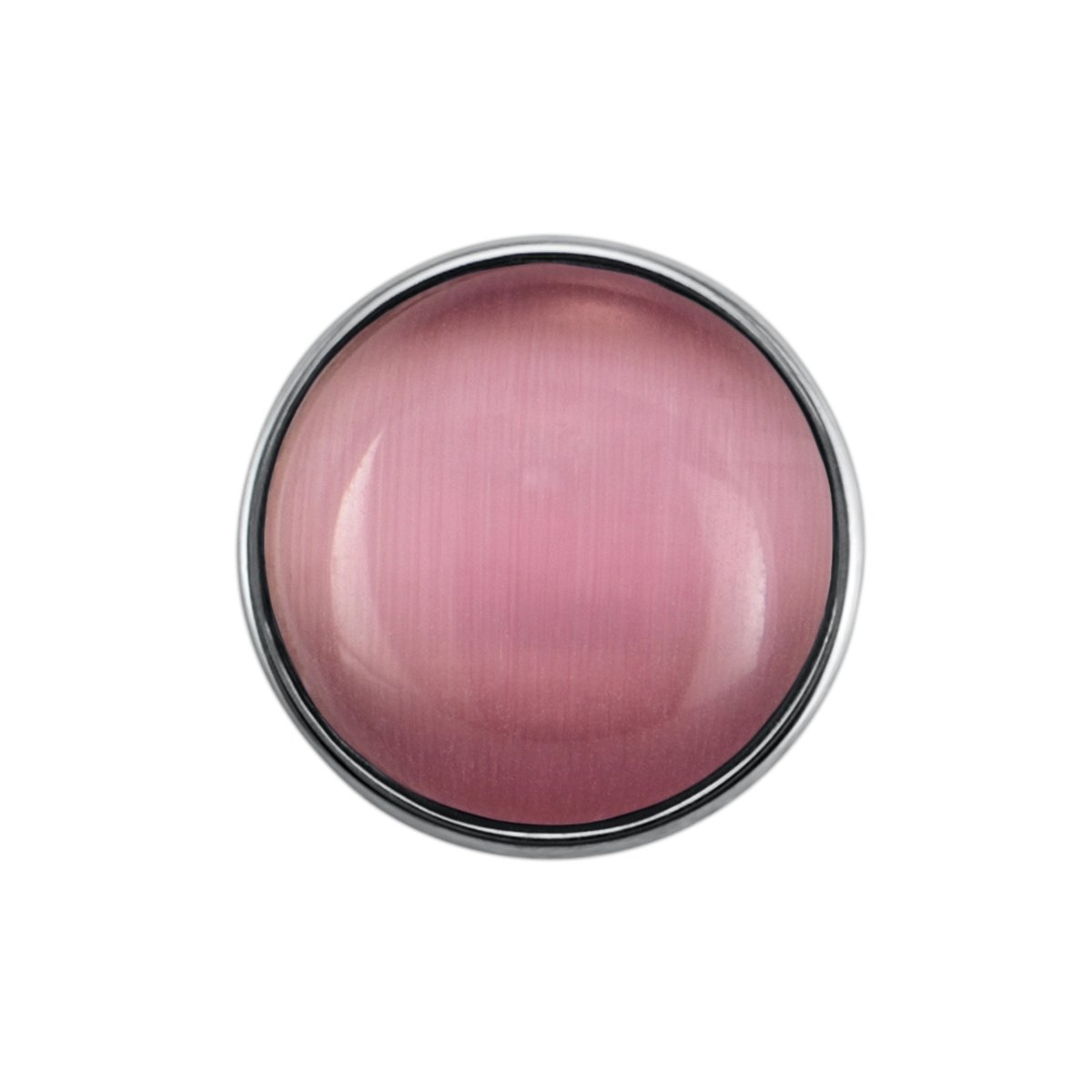 Quiges - Drukknoop Mini 12mm Cateye Roze - EBCMK024 kopen