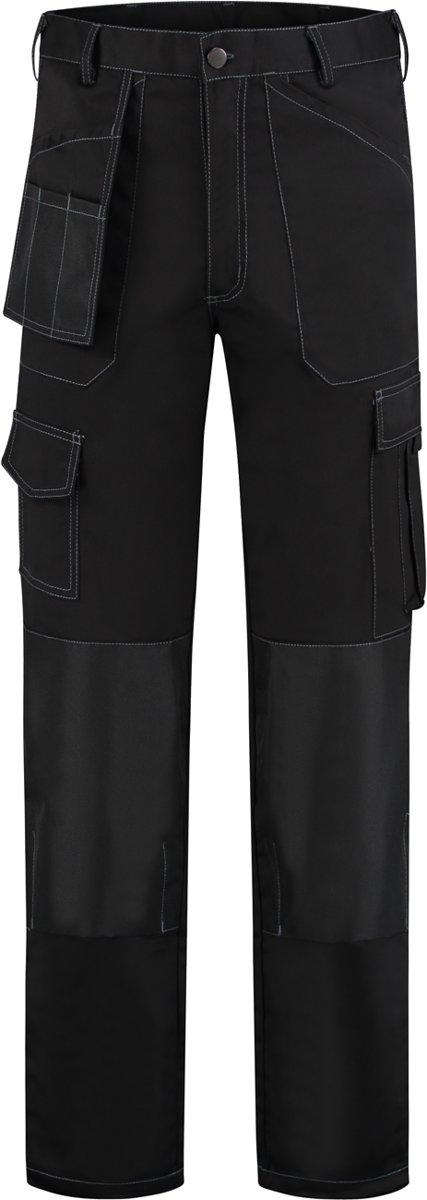 Yoworkwear Werkbroek Oxford polyester/katoen zwart maat 66 kopen