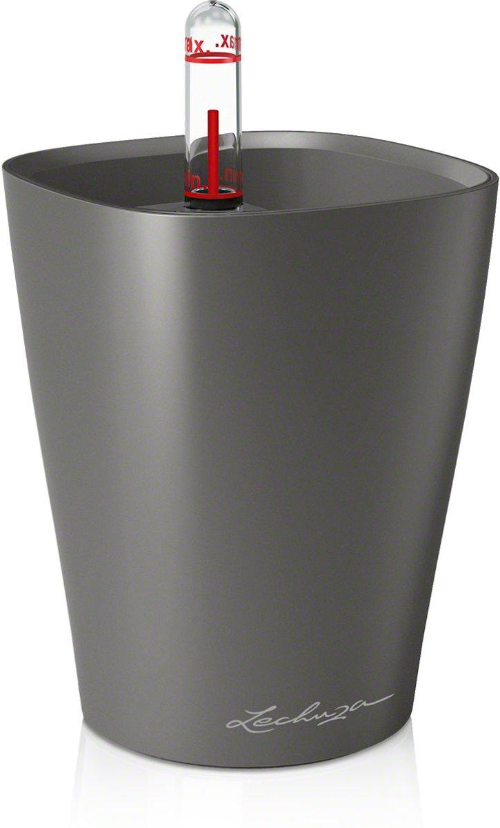 Lechuza - Mini Deltini antraciet metallic ALL-IN-ONE kopen