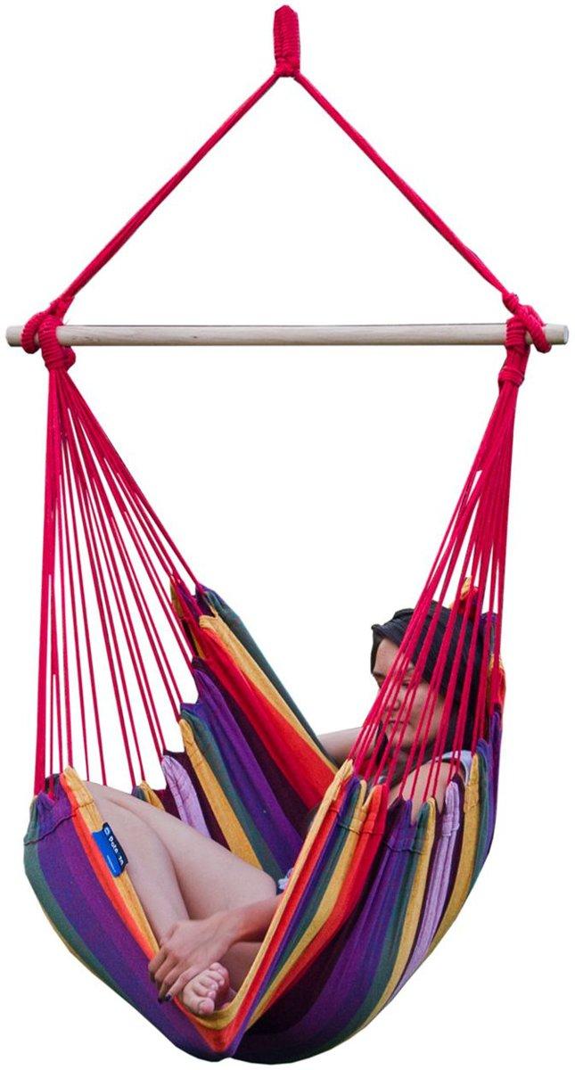 Potenza-Extra grote hangstoel  / 2-persoons hangstoel inclusief bevestigingsset voor binnen huis kopen