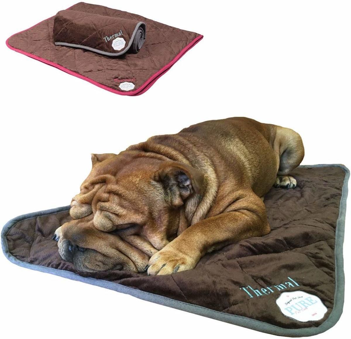 Rexa® Zelfverwarmende thermische deken voor honden 90 x 30 cm  | Wasbaar kussen dieren deken hondendeken |  Thermo mat hondenkussen dierenkussen kopen