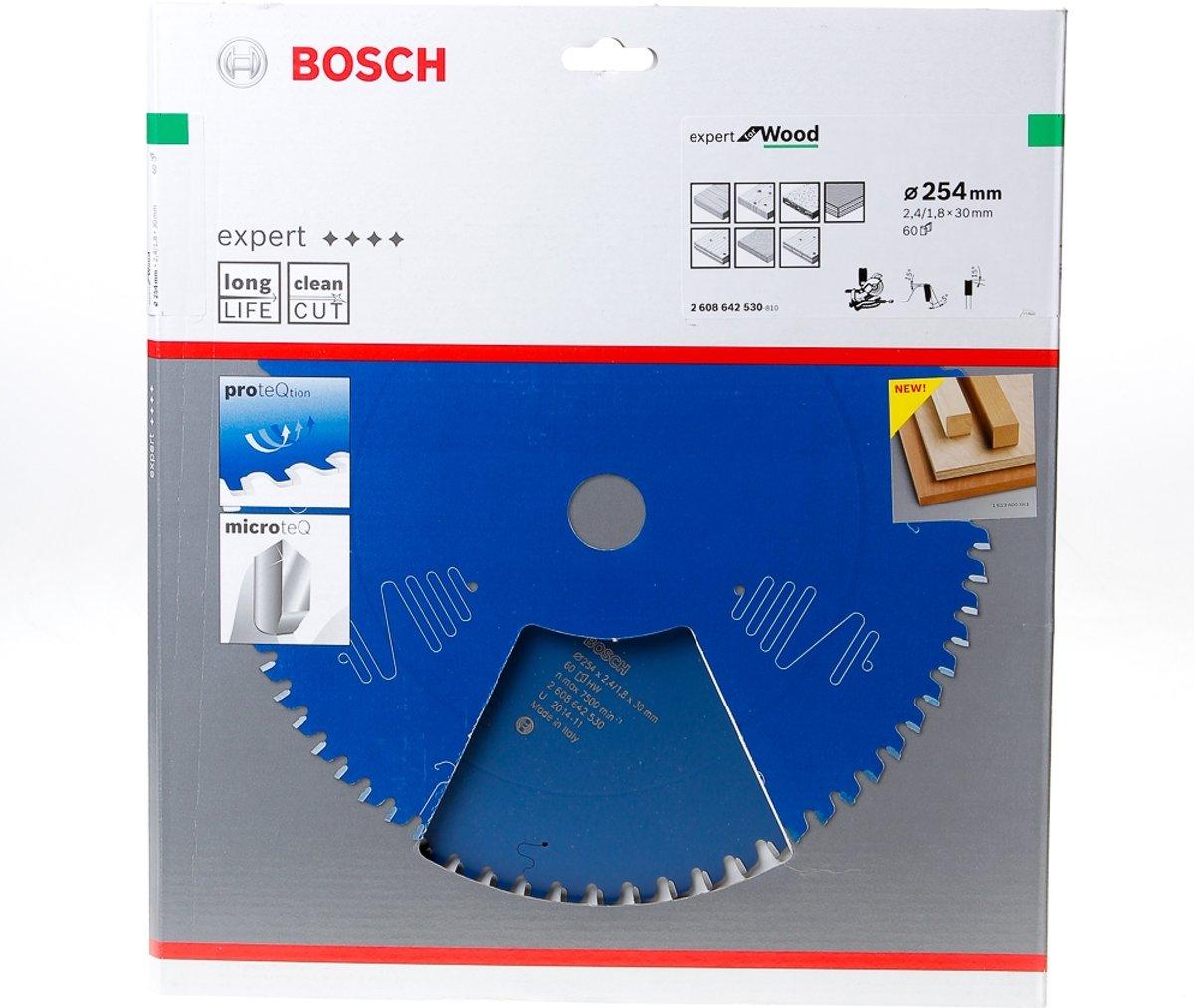 Bosch Cirkelzaagblad 60 tanden Wood Negative ABT 254 x 30 x 2.4mm kopen