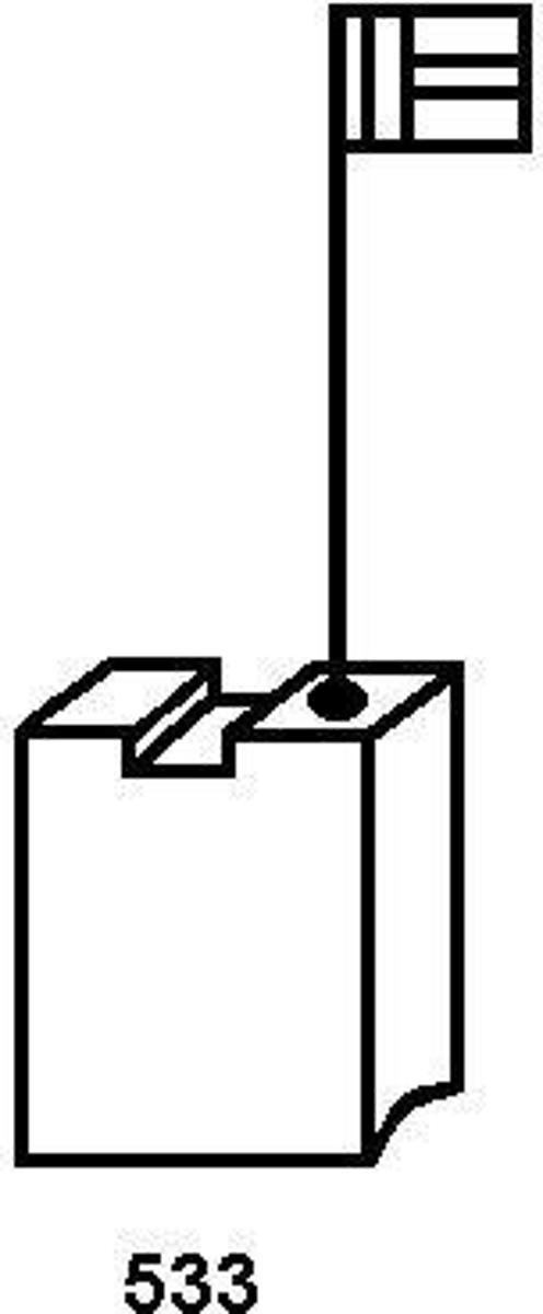 Koolborstel-set 1999.04 voor Elu handgereedschap, met automatische stop kopen