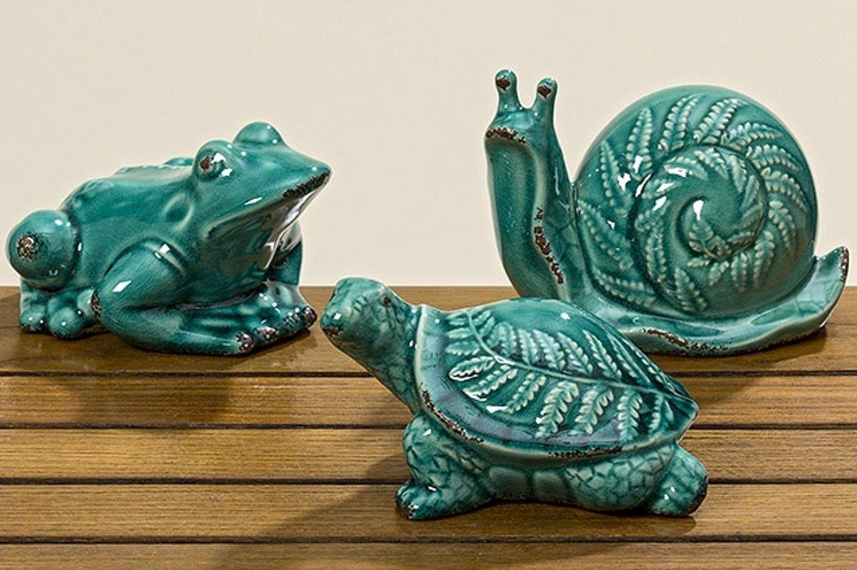 tuinbeeld slak kikker en schildpad kopen