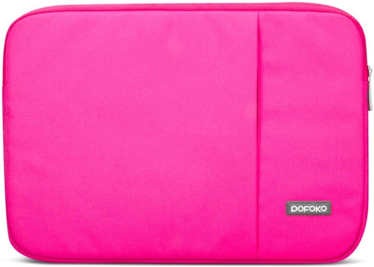 Pofoko - MacBook Pro 13-inch (2009-2012) Hoes - Sleeve Oscar Series Roze kopen