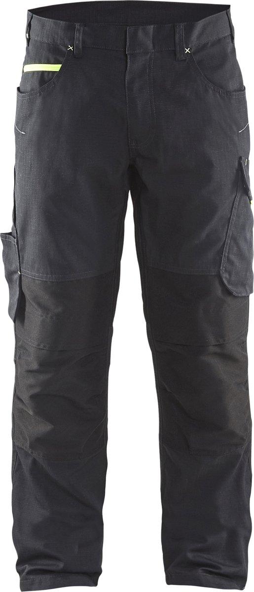 Blaklader Blåkläder 1495 Service Werkbroek zonder spijkerzakken-Groen/Zwart-C60 kopen