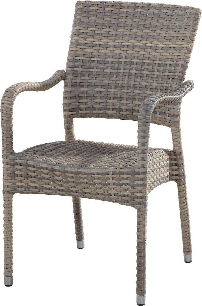 4 Seasons Outdoor Dover stapelbare stoel - Lagun kopen