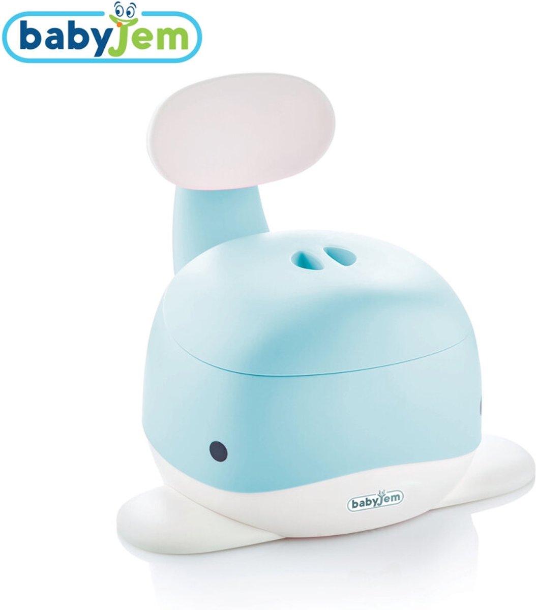 Babyjem Blauwe Walvis Potje , Praktische Toilet Training voor Peuter , Licht , Duurzaam , Hygienisch met Makkelijke Schoonmaken en Afzetbare Gedeeltes kopen