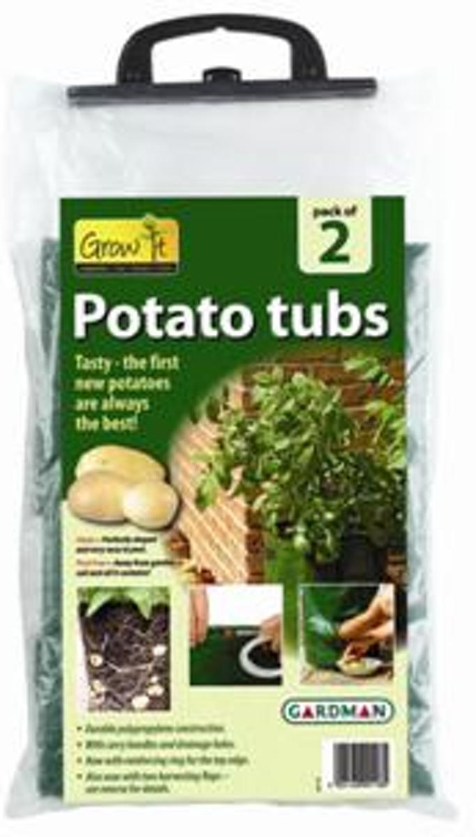Gardman Potato tub Twinpack 40x50 kopen