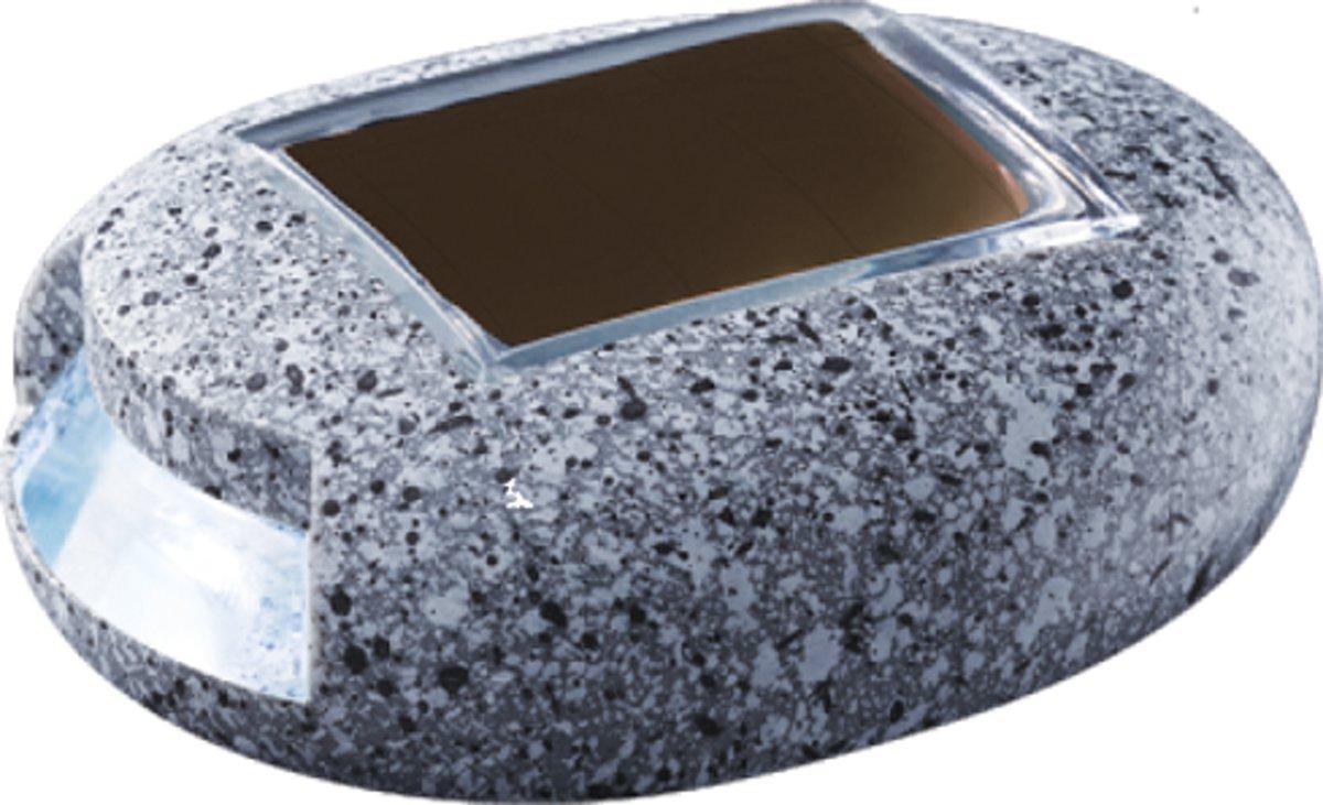POWERplus Cricket solar LED pad verlichting in steenvorm op zonne-energie - orientatielichtje op solar energie kopen
