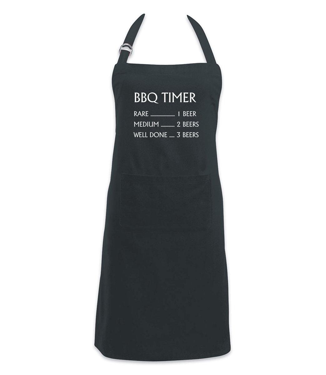 Keukenschort BBQ Timer kopen