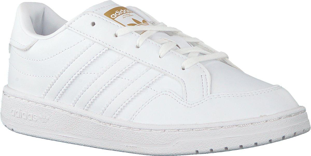 Adidas Jongens Lage sneakers Team Court C Wit Maat 32