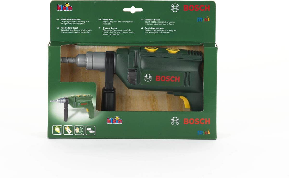 Vaak bol.com | Bosch Speelgoed Professional Line Boormachine, Theo WR58