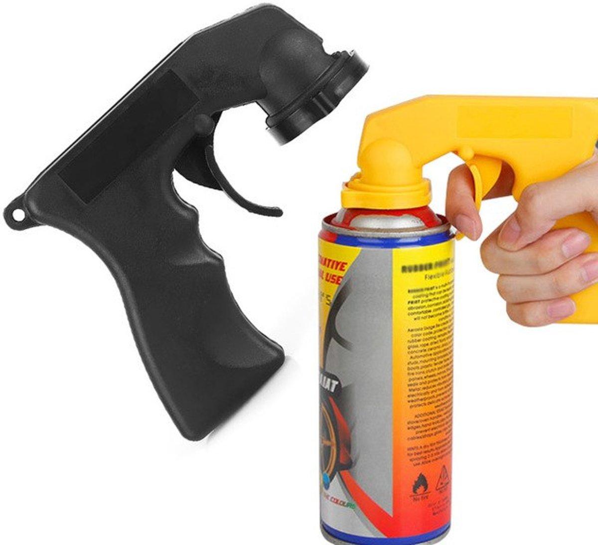 2 x SOL Spuitbus Pistool - Spuitpistool - Ergonomische Vormgeving - Spuiten met Precisie - Voordeelset - Zwart kopen