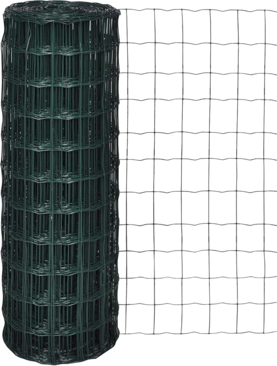 vidaXL Euro gaas 10 x 1,5 m / maaswijdte 76 63 mm kopen