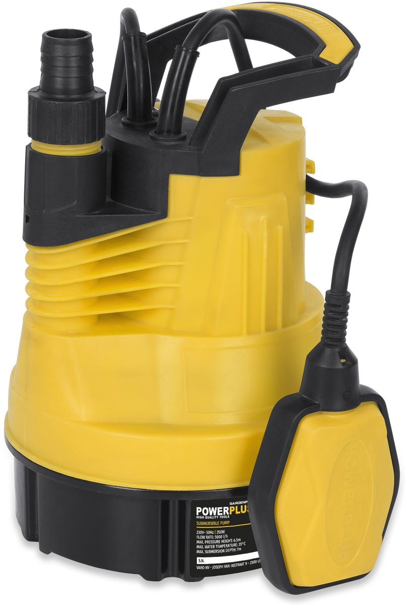 Powerplus POWXG9502 Dompelpomp zuiver water - 350 W - 5000 l/h kopen