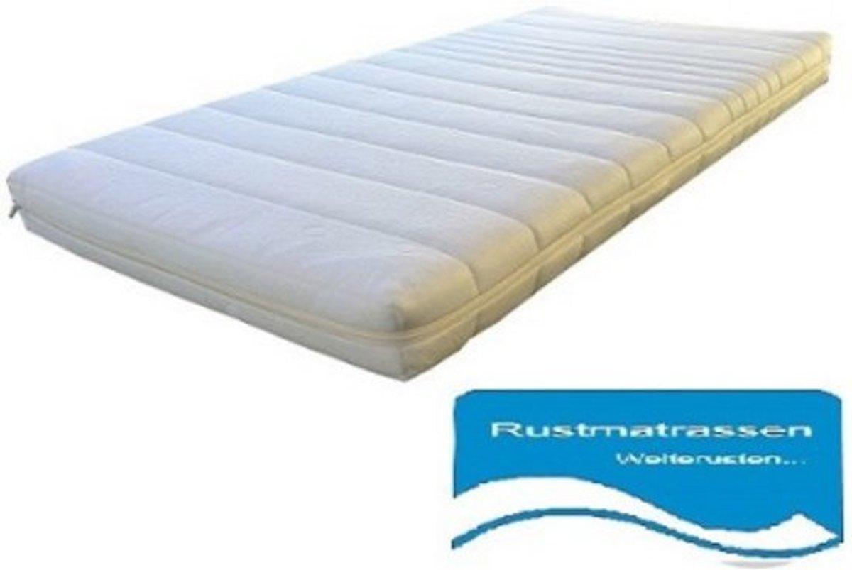 Boxmatras - Parkmatras 70x90x10cm  met anti-allergische wasbare Badstof hoes met rits kopen